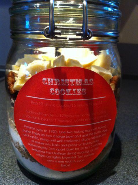 back of cookie jar label