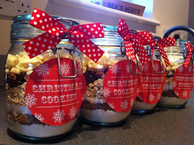 cookies in a jar row